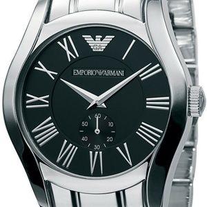 Emporio Armani Classic Watch Black/Silver Quartz
